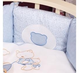 Lappetti Мишки (6 предметов/бортики-подушки/голубой)