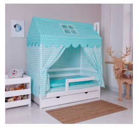Incanto Dream Home с ящиками (белый)