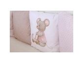 Комплект в кроватку Lappetti Little Mouse (6 предметов/универсальный)
