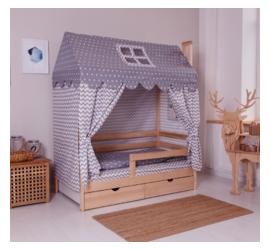 Incanto Dream Home Pine с ящиками (натуральный)